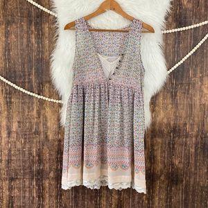 Maeve | Violetta Floral & Lace Dress S